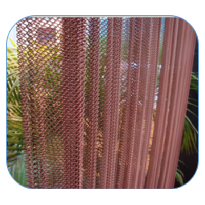Metal Woven Wire Mesh Curtains