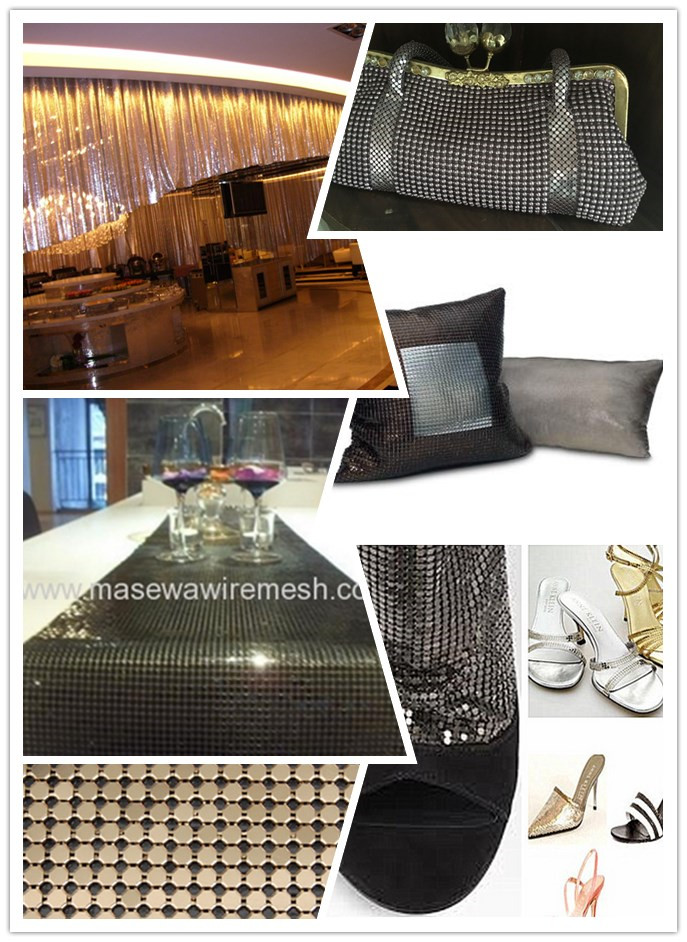 Metallic Cloth Fabric Application